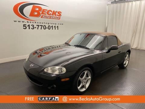 2001 Mazda MX-5 Miata for sale at Becks Auto Group in Mason OH