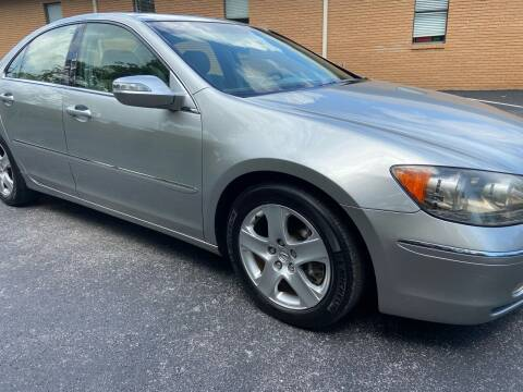 2007 Acura RL for sale at Wheel Tech Motor Vehicle Sales in Maylene AL
