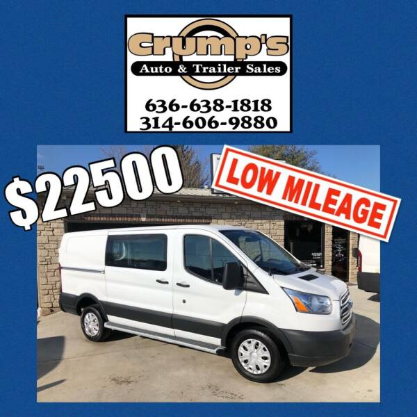 2018 Ford Transit Cargo for sale at CRUMP'S AUTO & TRAILER SALES in Crystal City MO