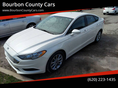 2017 Ford Fusion for sale at Bourbon County Cars in Fort Scott KS