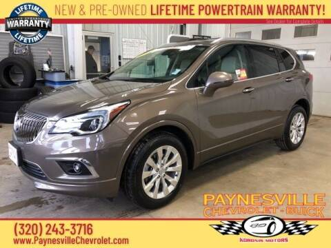 2018 Buick Envision for sale at Paynesville Chevrolet - Buick in Paynesville MN