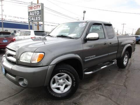 2003 Toyota Tundra for sale at TRI CITY AUTO SALES LLC in Menasha WI