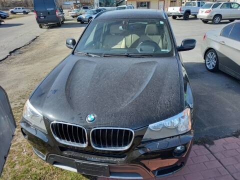 2013 BMW X3 for sale at Marvelous Motors in Garden City ID