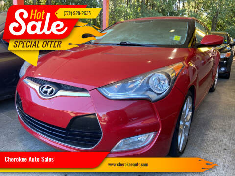 2013 Hyundai Veloster for sale at Cherokee Auto Sales in Acworth GA