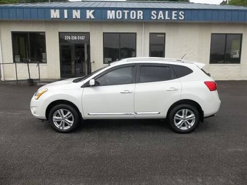 2013 Nissan Rogue for sale at MINK MOTOR SALES INC in Galax VA