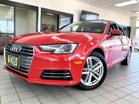2017 Audi A4 for sale at SAINT CHARLES MOTORCARS in Saint Charles IL