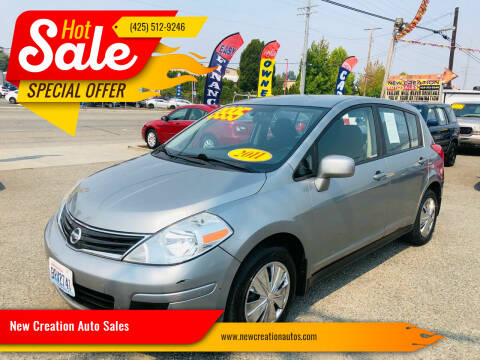 2011 Nissan Versa for sale at New Creation Auto Sales in Everett WA