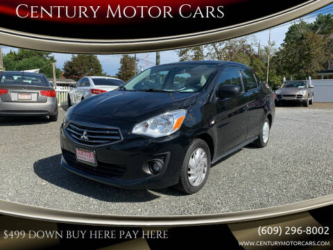 2019 Mitsubishi Mirage G4 for sale at Century Motor Cars in West Creek NJ