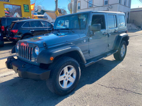 2014 Jeep Wrangler Unlimited for sale at White River Auto Sales in New Rochelle NY
