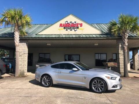 2015 Ford Mustang for sale at Rabeaux's Auto Sales in Lafayette LA