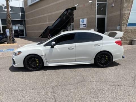2018 Subaru WRX for sale at Camelback Volkswagen Subaru in Phoenix AZ