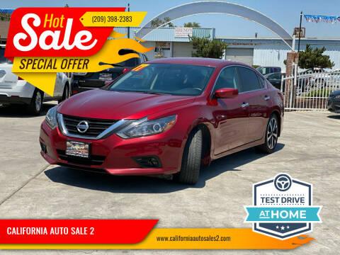 2017 Nissan Altima for sale at CALIFORNIA AUTO SALE 2 in Livingston CA