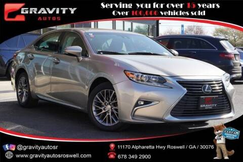 2018 Lexus ES 350 for sale at Gravity Autos Roswell in Roswell GA