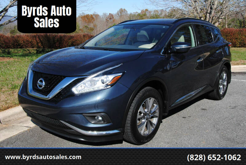 2015 Nissan Murano for sale at Byrds Auto Sales in Marion NC