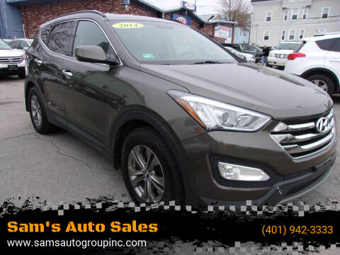 2014 Hyundai Santa Fe Sport for sale at Sam's Auto Sales in Cranston RI