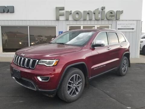 2018 Jeep Grand Cherokee for sale at Frontier Motors Automotive, Inc. in Winner SD