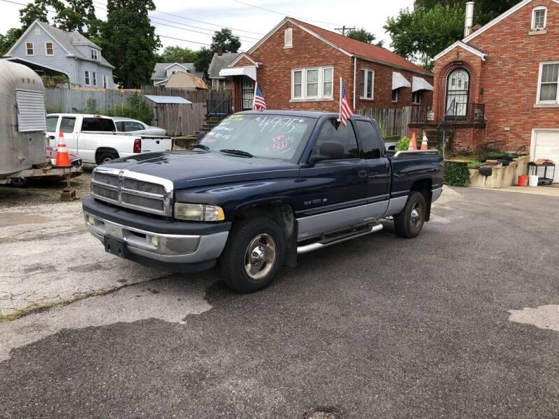 2001 Dodge Ram Pickup 1500 for sale at Kneezle Auto Sales in Saint Louis MO