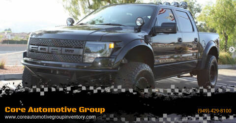2014 Ford F-150 for sale at Core Automotive Group - Raptors in San Juan Capistrano CA