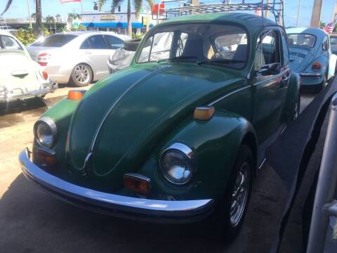 1971 Volkswagen Beetle for sale at TOP TWO USA INC in Oakland Park FL