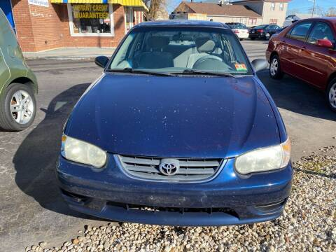 2002 Toyota Corolla for sale at Diamond Auto Sales in Pleasantville NJ
