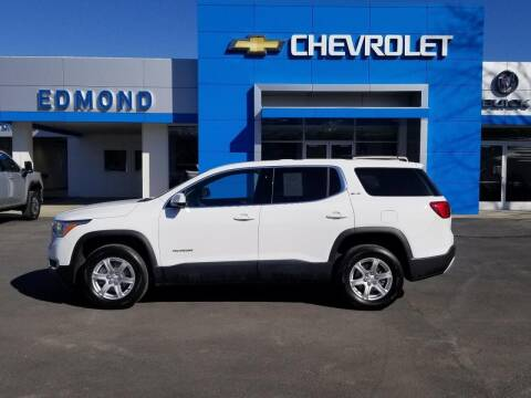 2018 GMC Acadia for sale at EDMOND CHEVROLET BUICK GMC in Bradford PA