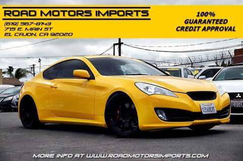 2011 Hyundai Genesis Coupe for sale at Road Motors Imports in El Cajon CA