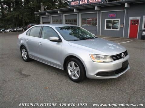 2013 Volkswagen Jetta for sale at Autoplex Motors in Lynnwood WA