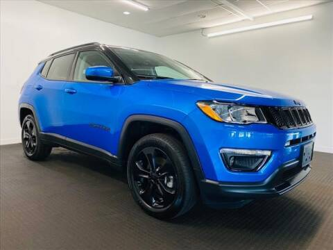2018 Jeep Compass for sale at Champagne Motor Car Company in Willimantic CT