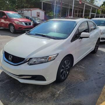2015 Honda Civic for sale at America Auto Wholesale Inc in Miami FL
