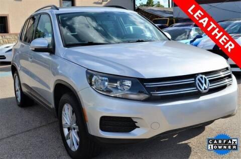 2015 Volkswagen Tiguan for sale at LAKESIDE MOTORS, INC. in Sachse TX