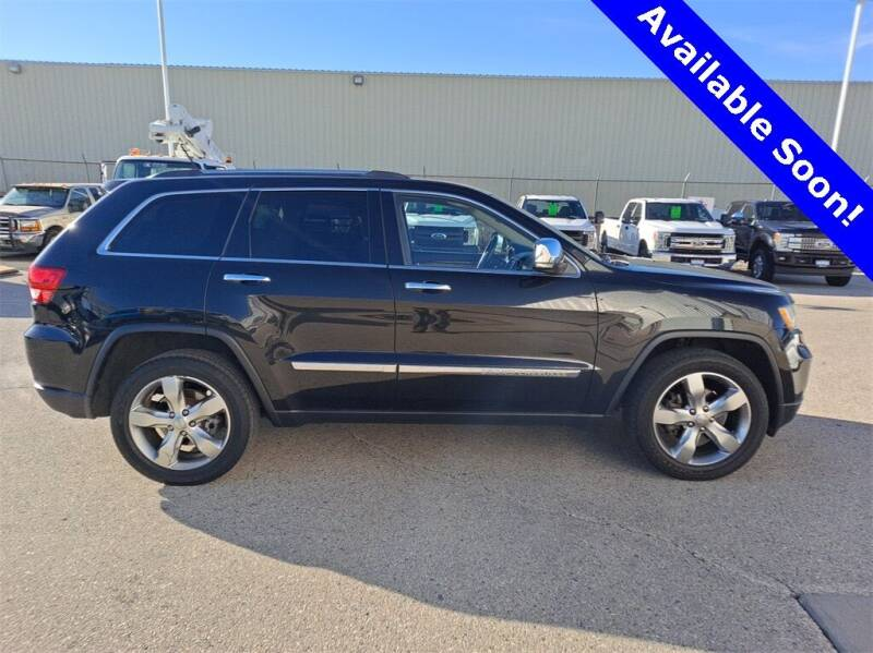 2013 Jeep Grand Cherokee for sale at LENZ TRUCK CENTER in Fond Du Lac WI