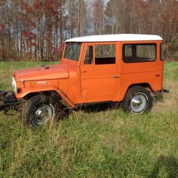 1971 Toyota Land Cruiser for sale at Classic Car Deals in Cadillac MI