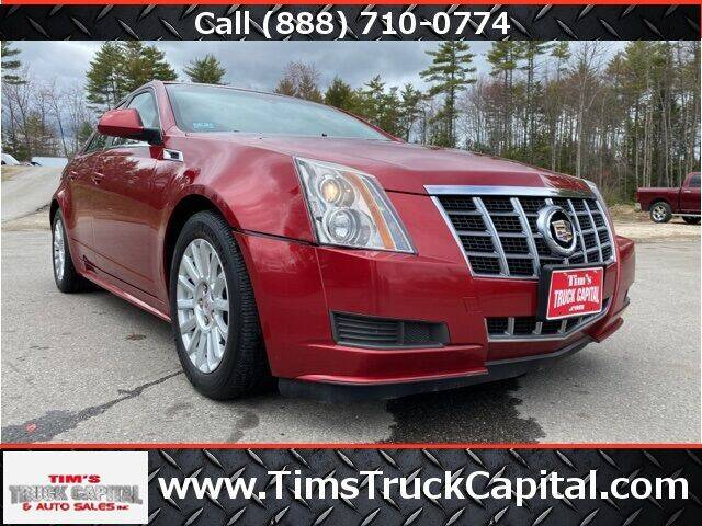 2012 Cadillac CTS for sale at TTC AUTO OUTLET/TIM'S TRUCK CAPITAL & AUTO SALES INC ANNEX in Epsom NH