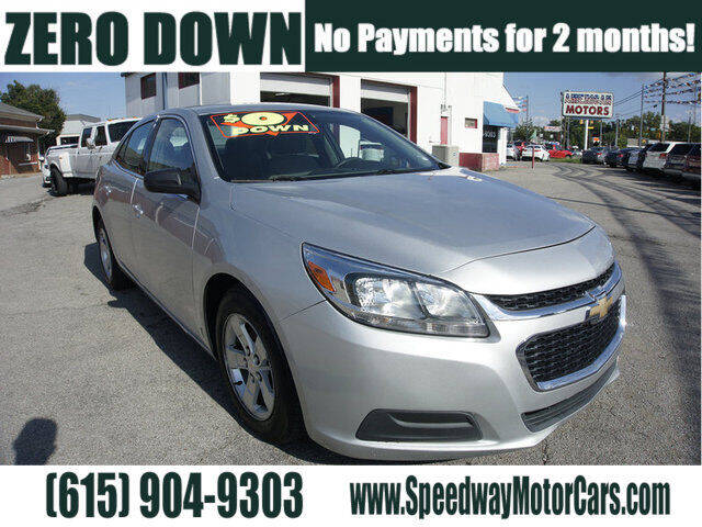 2016 Chevrolet Malibu Limited for sale at Speedway Motors in Murfreesboro TN