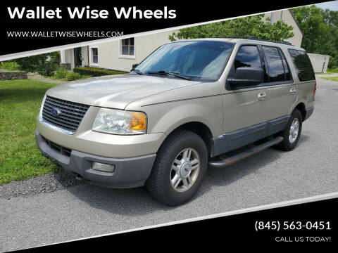 2004 Ford Expedition for sale at Wallet Wise Wheels in Montgomery NY