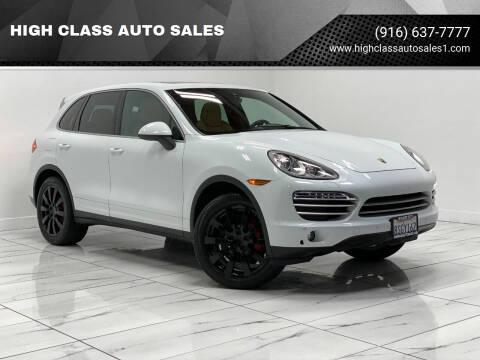2014 Porsche Cayenne for sale at HIGH CLASS AUTO SALES in Rancho Cordova CA
