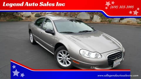 1999 Chrysler LHS for sale at Legend Auto Sales Inc in Lemon Grove CA
