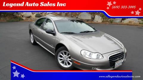 1999 Chrysler LHS for sale at Legend Auto Sales Inc in Lemon Grove CA