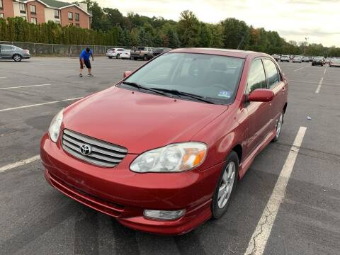 2003 Toyota Corolla for sale at MFT Auction in Lodi NJ