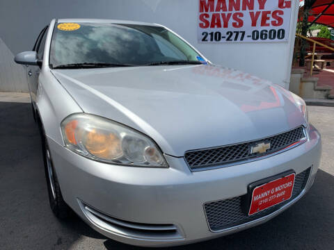 2014 Chevrolet Impala Limited for sale at Manny G Motors in San Antonio TX