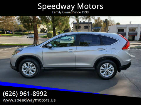 2013 Honda CR-V for sale at Speedway Motors in Glendora CA