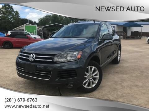 2013 Volkswagen Touareg for sale at Newsed Auto in Houston TX