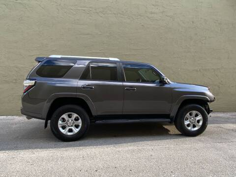 2018 Toyota 4Runner for sale at My Car Inc in Hialeah FL