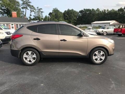 2010 Hyundai Tucson for sale at J Wilgus Cars in Selbyville DE