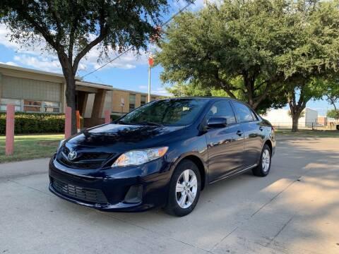 2013 Toyota Corolla for sale at Makka Auto Sales in Dallas TX