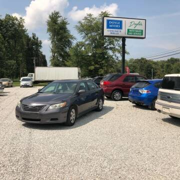 2007 Toyota Camry for sale at Doyle's Auto Sales and Service in North Vernon IN