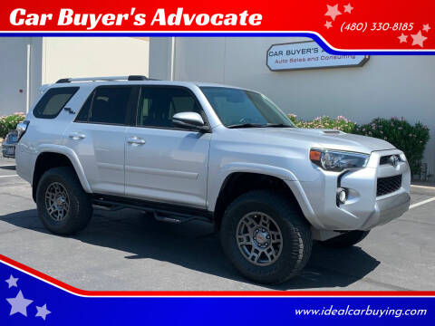2018 Toyota 4Runner for sale at Car Buyer's Advocate in Phoenix AZ
