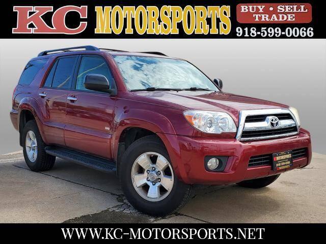 2007 Toyota 4Runner for sale at KC MOTORSPORTS in Tulsa OK