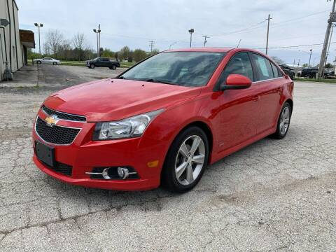 2012 Chevrolet Cruze for sale at Brown's Truck Accessories Inc in Forsyth IL