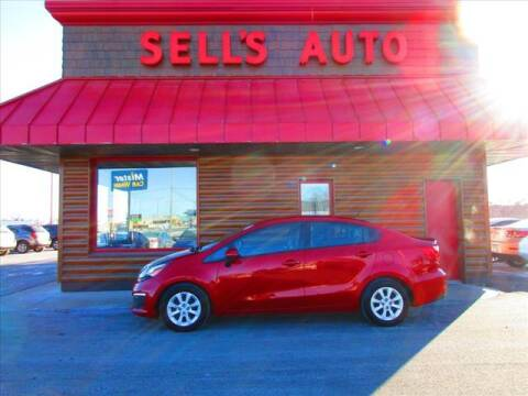 2017 Kia Rio for sale at Sells Auto INC in Saint Cloud MN